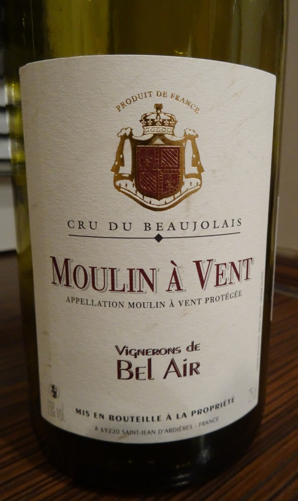 Beaujolais Moulin a vent Bel Air