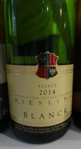 Paul Blanck Alzace Riesling 2014