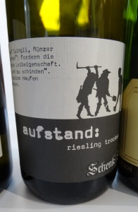 Schenk-Siebert Pfalz Riesling Kabinett trocken Aufstand 2013