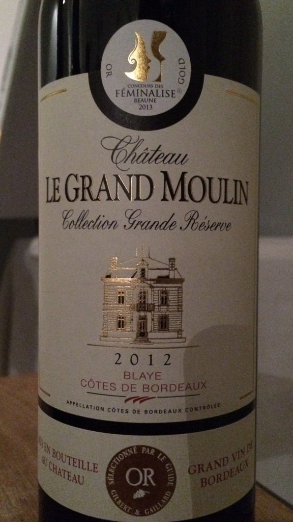 02. Château le Grand Moulin Rouge 2012