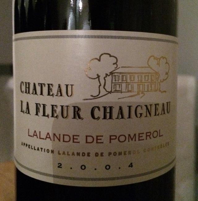 05. Château La Fleur Chaigneau 2004 AOC Lalande de Pomerol