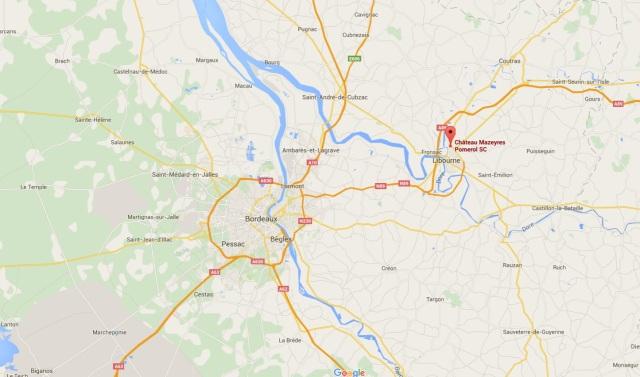 06. Château Mazeyres_map