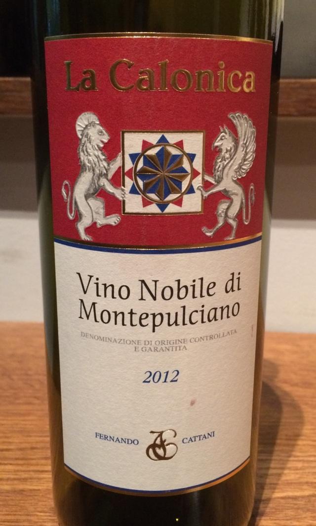 4. La Calonica Vino Nobile di Montepulciano