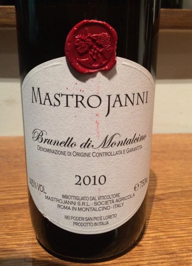 6. Mastrojanni Brunello Di Montalcino 2010