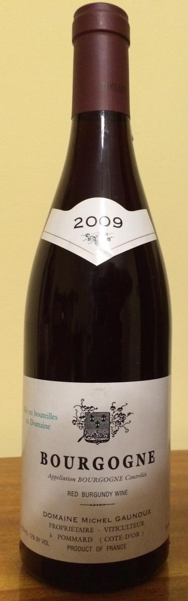 Bourgogne Domaine Michel Gaunoux 2009_1