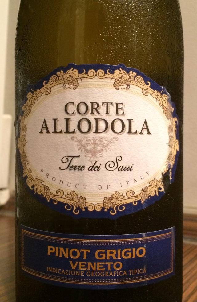 Corte Allodola Terre dei Sassi Pinot Grigio Veneto 2014
