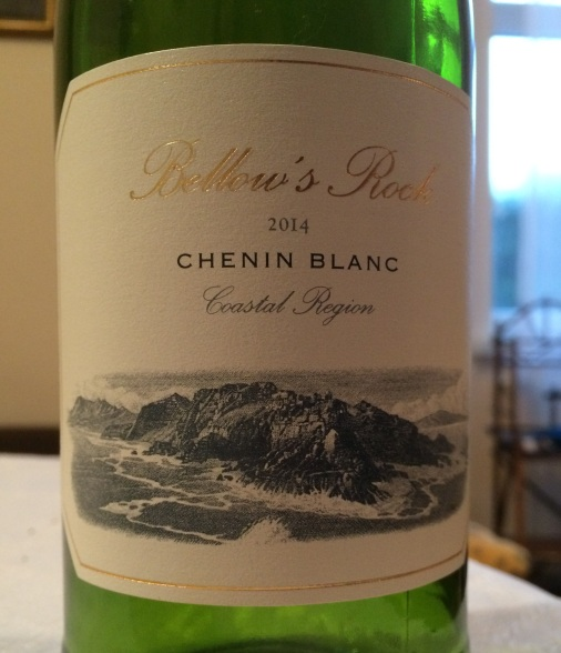 03. Bellow's Rock 2014 Chenin Blanc, Coastal Region RPA.jpg