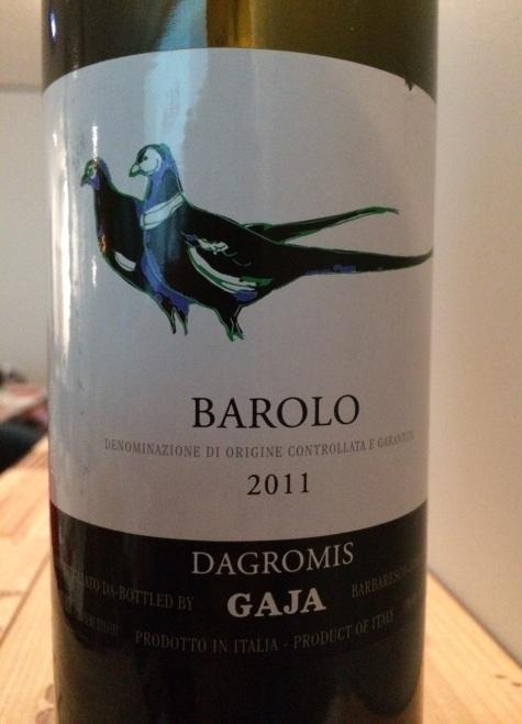 07. Barolo Dagromis 2011 Gaja.jpg