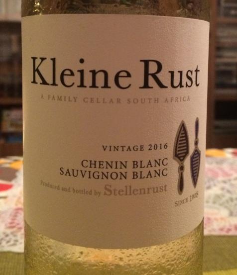 Kleine Rust Vintage 2016 Chenin Blanc Sauvignon Blanc RPA.jpg