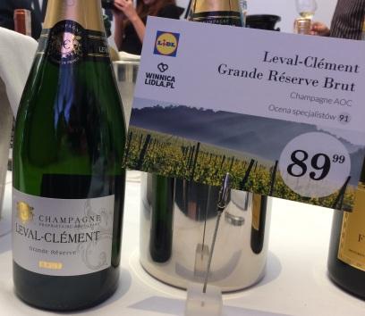 03. Leval-Clement Grande Reserve Brut Champagne AOC