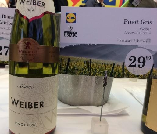 15. Pinot Gris, Weiber Alsace AOC 2016