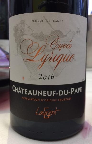 22. Châteauneuf-du-Pape Cuvée Lyrique.jpg