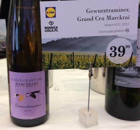 Gewurtztraminer Grand Cru Marcrai Alsace AOC 2015